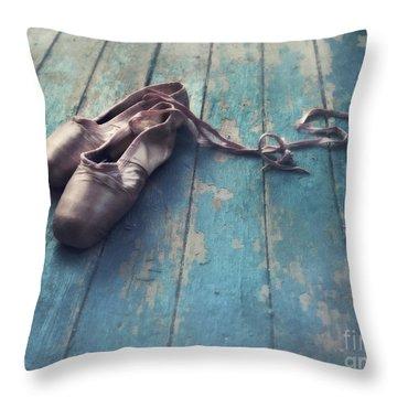 Danced Throw Pillow by Priska Wettstein