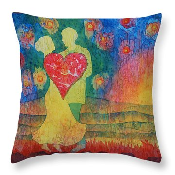 Danced Until Dawn Throw Pillow
