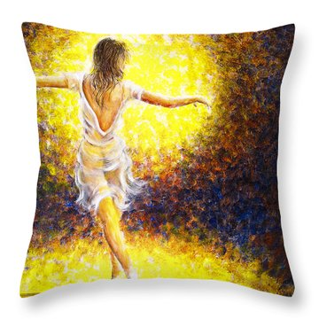 Dancer 20 Throw Pillow