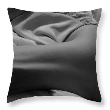 Dancer Legs Throw Pillow