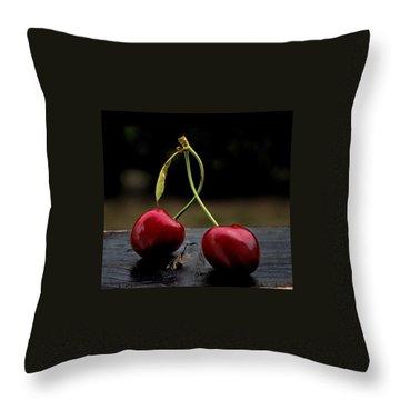 Dancer Throw Pillow by Marija Djedovic