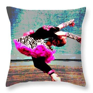 Dancevii Throw Pillow