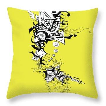 Dancing Angel Throw Pillow