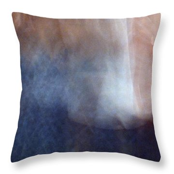 Throw Pillow featuring the photograph Dancing Blues 3  by Lyle Crump