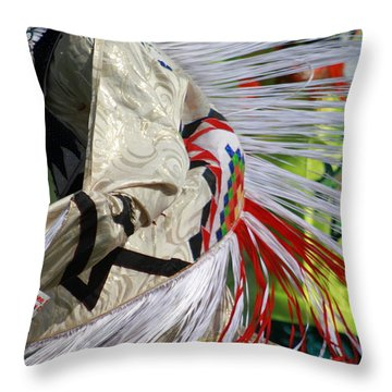 Dancing For The Ancestors Throw Pillow