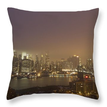 Dancing In The Mist Throw Pillow