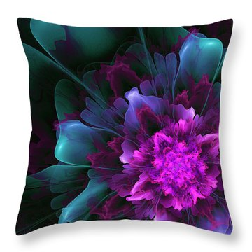 Throw Pillow featuring the digital art Dancing In The Moonlight by Linda Whiteside