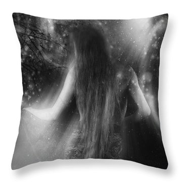 Dancing In The Moonlight... Throw Pillow