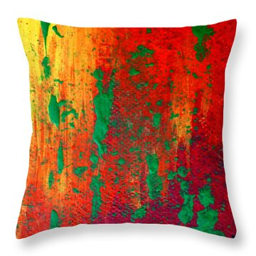 Dancing In The Sun Throw Pillow