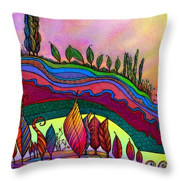 Dancing In The Sunshine Throw Pillow
