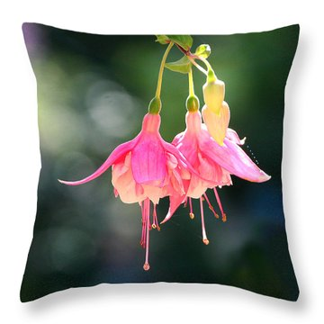 Dancing In The Wind Throw Pillow by Mariarosa Rockefeller