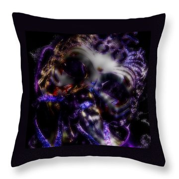 Dancing Masquerade Throw Pillow