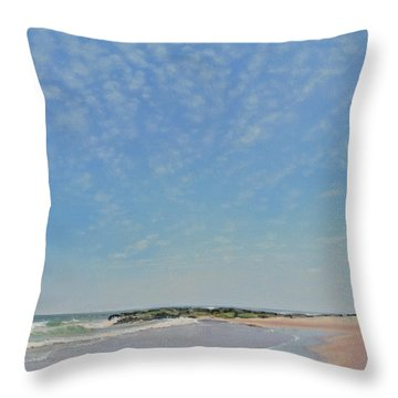 Dancing Sky In April Throw Pillow