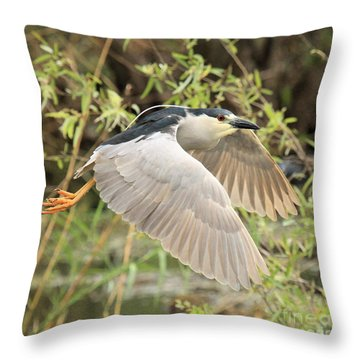 Dancing Through The Trees Throw Pillow