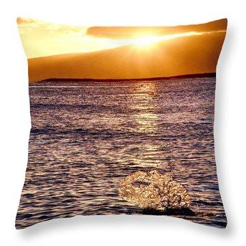 Dancing Water Throw Pillow