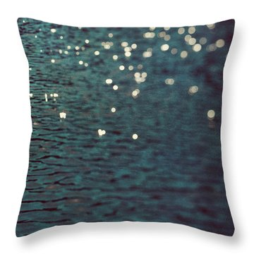 Throw Pillow featuring the photograph Dancing Water by Kim Fearheiley
