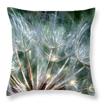 Dandelion Fan Throw Pillow