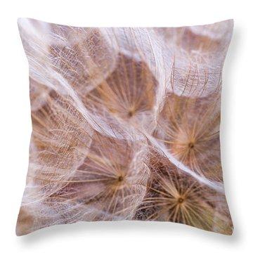 Dandelions 7 Throw Pillow