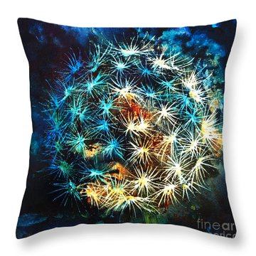 Dandy Puff Throw Pillow