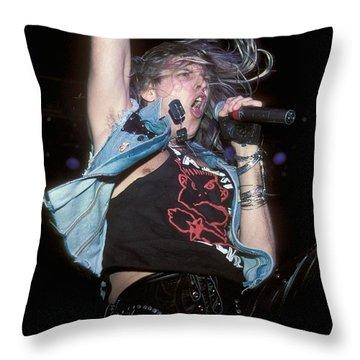 Danger Danger Throw Pillow