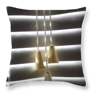 Throw Pillow featuring the photograph Dangling  by Lyric Lucas