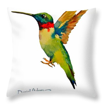Da166 Hummer Dreams Daniel Adams Throw Pillow