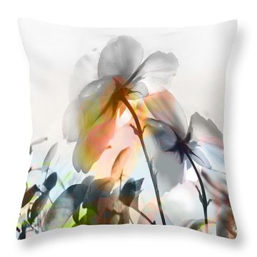 Danza En Primavera Throw Pillow