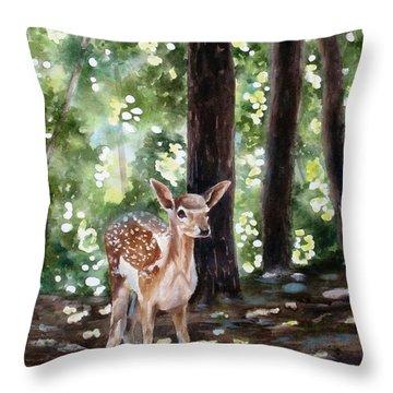 Dappled Innocence Throw Pillow