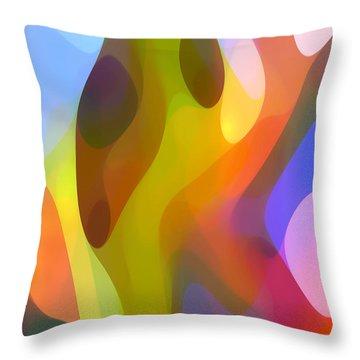 Dappled Light 7 Throw Pillow by Amy Vangsgard