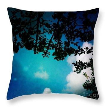 Dappled Sky Throw Pillow