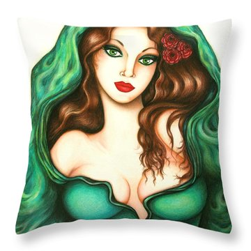 Daring Throw Pillow