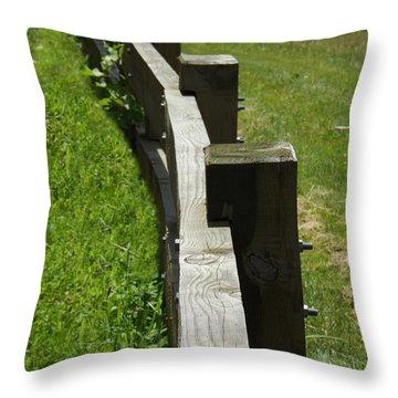 Daring The Soul Throw Pillow by Sara  Raber