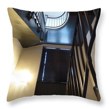 Throw Pillow featuring the photograph Dark Before The Light by Newel Hunter