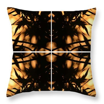 Dark Crossing Throw Pillow