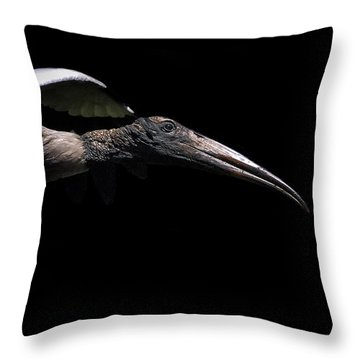 Dark Flight Throw Pillow