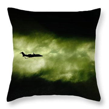Dark Shadow  Throw Pillow