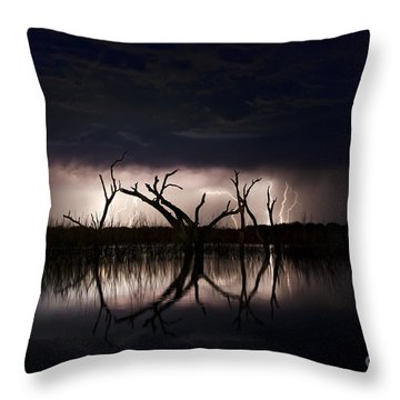 Dark Skies Throw Pillow