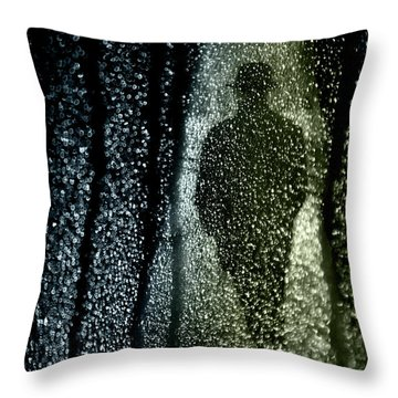 Dark Stranger Throw Pillow