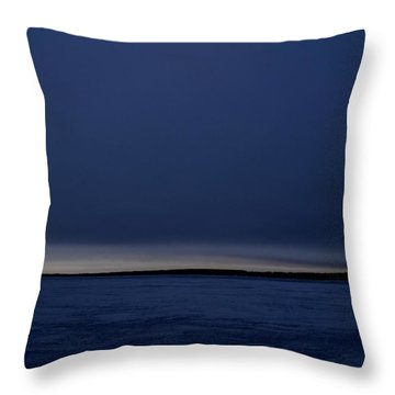 Throw Pillow featuring the photograph Dark Sunrise 2  by Lyle Crump