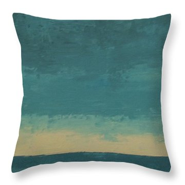 Dark Waters Throw Pillow by Gail Kent