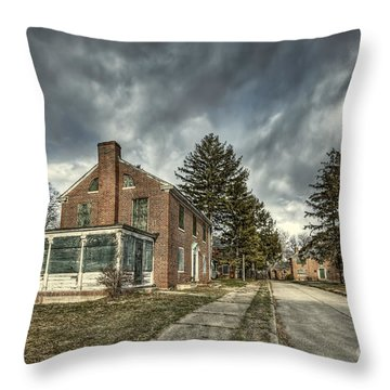 Darkened Days To Come Throw Pillow
