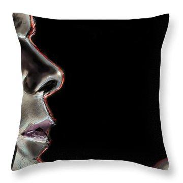 Darkly Dreaming Dexter Throw Pillow by Vinny John Usuriello