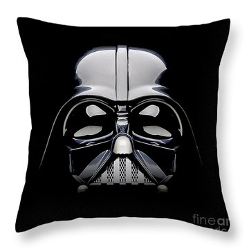 Darth Vader Helmet Throw Pillow