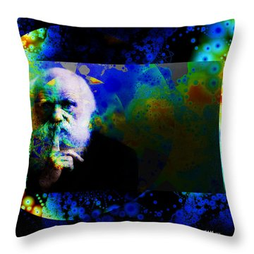 Darwinism Throw Pillow