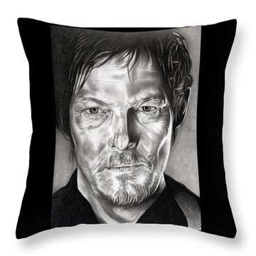 Daryl Dixon - The Walking Dead Throw Pillow