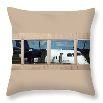 Dash Reflection Throw Pillow