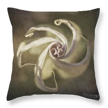 Datura Star Throw Pillow