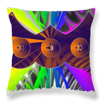 Daughter Of The Bartleys Throw Pillow by Ahonu