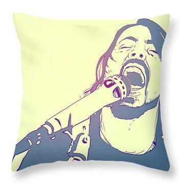 Pop Music Throw Pillows