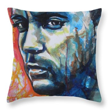 Dave Matthews Throw Pillow